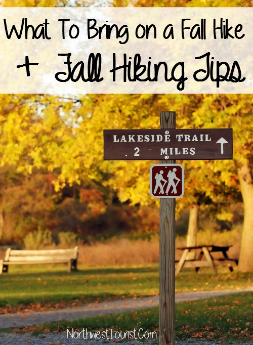 What to Pack for a fall hike and Fall Hiking Tips