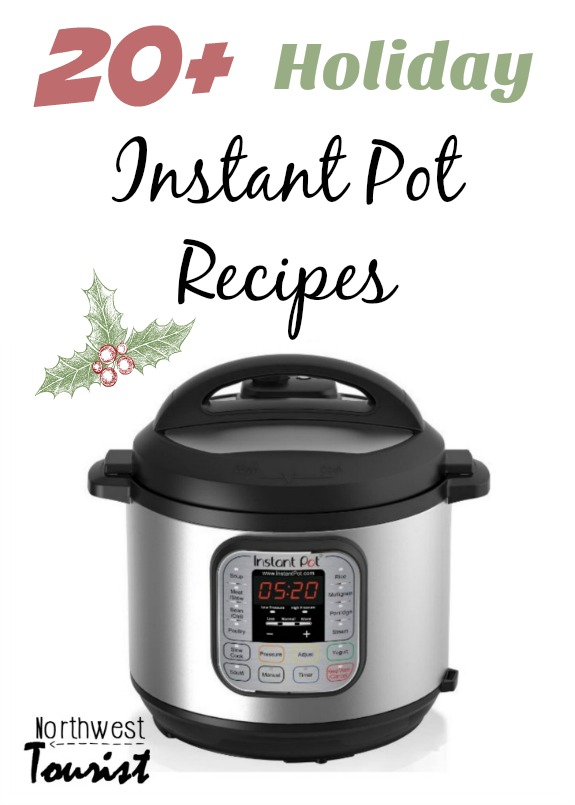 Instant Pot Holiday Recipes-- Your Instant Pot can be your best friend this holiday season with these holiday instant pot recipes!