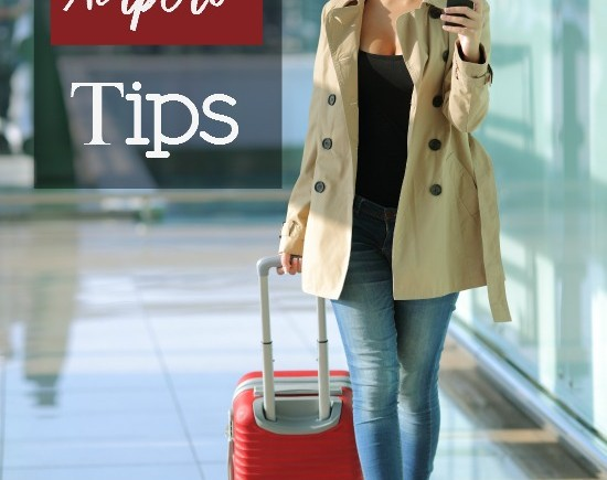 Winter Airport Tips- Traveling this winter by air? Check out this list of winter airport tips to make the most of it and avoid as many issues as possible.