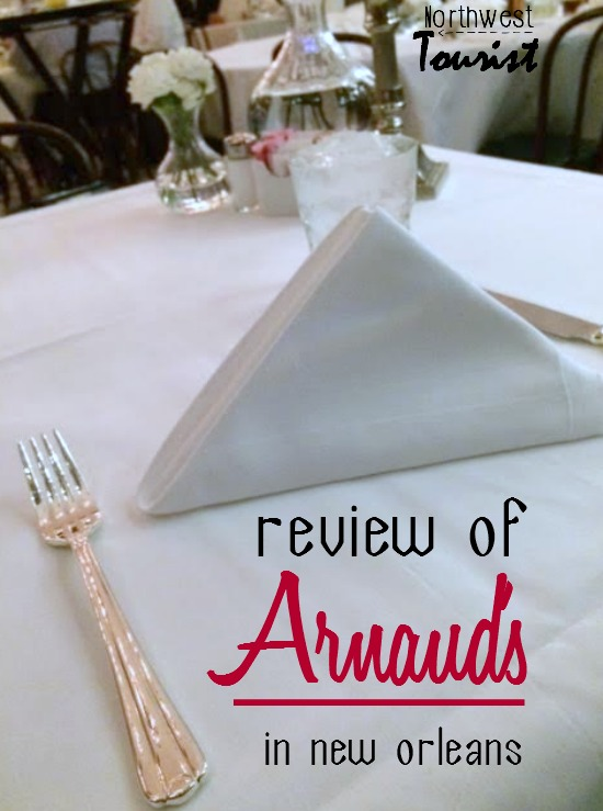 Arnaud's Restaurant in New Orleans, LA- When visiting the French Quarter, make sure to check out upscale classic Creole food at Arnaud's.