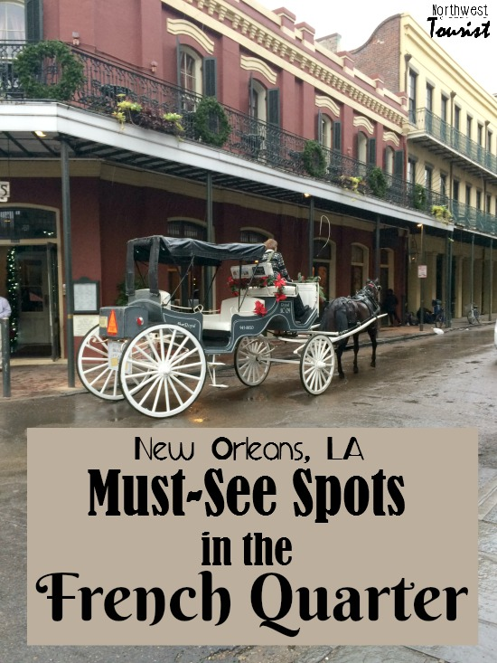 10 Must See Places in the French Quarter- Heading to New Orleans? Make sure you check out these must see spots in the historic French Quarter.