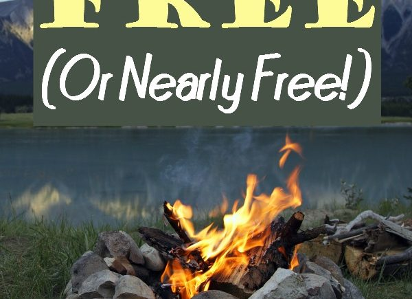 How to Camp for Free or Nearly Free- Camping can be a frugal way to spend the summer and what better price than free or nearly free?