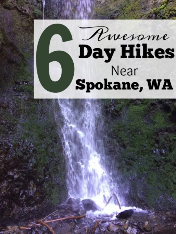 6 Great Day Hikes Near Spokane WA- Looking to get outdoors and into nature near Spokane, WA? Here's 6 awesome day hikes that you won't want to miss!